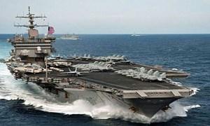 [Video] Tàu sân bay đắt nhất thế giới USS Gerald R.Ford tiến ra biển