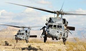 [Ảnh] Radar S-400 Nga bất lực trước tốp trực thăng Mỹ xâm nhập tiêu diệt trùm khủng bố Baghdadi?