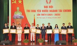 Bộ Tài chính hoàn thành xuất sắc các phong trào thi đua do Thủ tướng Chính phủ phát động