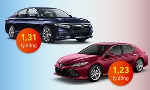 [Infographics] Honda Accord và Toyota Camry - cuộc đấu khi khách hàng hết mặn mà