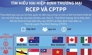 [Infographics] Tìm hiểu hai hiệp định thương mại RCEP và CPTPP