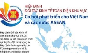[Infographics] Hiệp định RCEP: Cơ hội phát triển cho Việt Nam và các nước ASEAN