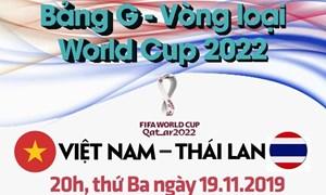 [Infographics] Những điều cần biết trước trận ''đại chiến'' Việt Nam - Thái Lan