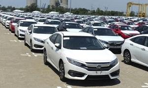 [Infographics] Nhập khẩu ô tô tháng 10 đạt 283 triệu USD