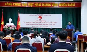Công đoàn Bộ Tài chính tổ chức hiến máu tình nguyện năm 2020