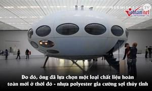 [Video] Ngôi nhà hình đĩa bay siêu rẻ, siêu nhẹ, có thể di chuyển được