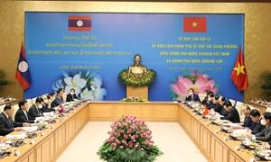 [Infographics] Kết quả kỳ họp lần thứ 43 Ủy ban liên Chính phủ Việt Nam - Lào