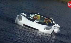 [Video] Ôtô lai tàu ngầm độc nhất thế giới