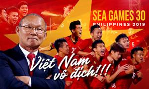 [Video] Ông Park chia sẻ sau khi Việt Nam vô địch SEA Games 30