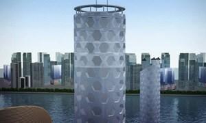 [Video] Tòa nhà thẳng đứng dưới đáy biển sức chứa 25.000 người