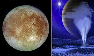 [Video] Phát hiện hàng nghìn tấn nước trên Mặt trăng của sao Mộc