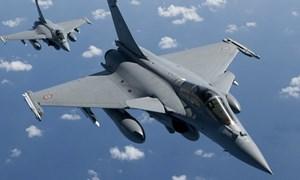 [Video] Hy Lạp mua 18 máy bay chiến đấu Rafale của Pháp