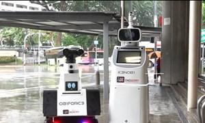 [Video] Robot tuần tra tại ga tàu điện ngầm