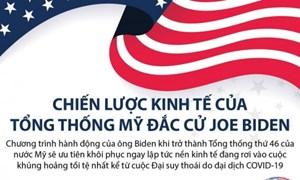 [Infographics] Chiến lược kinh tế của Tổng thống Mỹ đắc cử Joe Biden