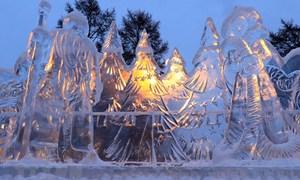 [Ảnh] Chiêm ngưỡng những kiệt tác băng độc đáo của Siberia
