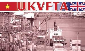 [Infographics] UKVFTA mở ra chương mới trong hợp tác kinh tế, thương mại Việt-Anh