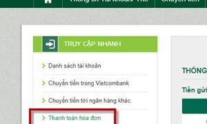 Vietcombank triển khai dịch vụ thanh toán tiền điện tại Thanh Hóa