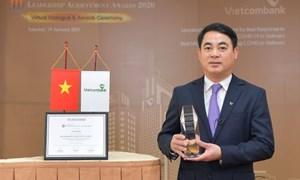 Vietcombank - Ngân hàng quản trị tốt nhất và Lãnh đạo xuất sắc trong ứng phó với Covid-19