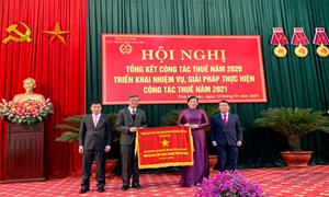 Năm 2020, Cục Thuế Thái Nguyên thu ngân sách vượt dự toán 1.771 tỷ đồng