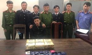 Hải quan Hà Tĩnh phối hợp bắt giữ nhiều vụ vận chuyển ma túy