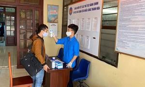Hải quan Thanh Hóa thực hiện cao điểm phòng, chống dịch COVID-19