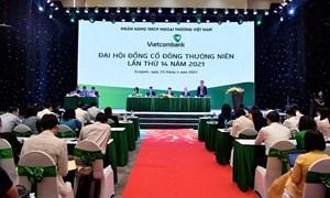 Vietcombank tổ chức họp Đại hội đồng cổ đông thường niên lần thứ 14 năm 2021