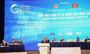 Vietcombank đồng hành cùng Diễn đàn Kinh tế tư nhân năm 2019