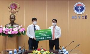 Mỗi năm, Vietcombank dành gần 200 tỷ đồng cho giáo dục và y tế
