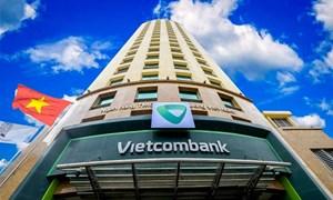 Vietcombank có giá trị vốn hóa thị trường vượt 10 tỷ USD