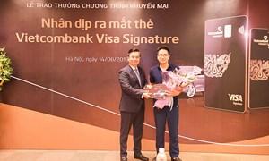Vietcombank trao thưởng xe Audi Q5 cho khách hàng