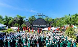 """Hội trại """"Tuổi trẻ Vietcombank – Sắt son niềm tin với Đảng"""""""