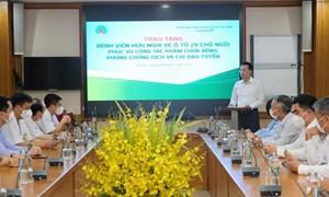 Vietcombank chung tay cùng hai Bệnh viện tại Hà Nội phòng chống dịch Covid-19