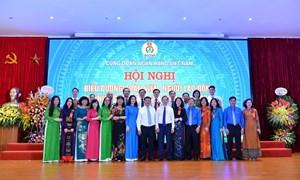 27 cán bộ Vietcombank được Công đoàn Ngân hàng Việt Nam vinh danh