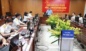 Cục Thuế Quảng Ninh đối thoại trực tuyến với người nộp thuế