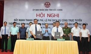 Sở Thông tin Truyền thông Bắc Giang và Vietcombank Bắc Giang ký kết hợp tác
