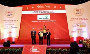 Vietcombank lợi nhuận tốt nhất khối ngân hàng năm 2019
