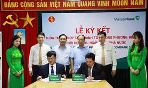 Vietcombank hợp tác cùng Kho bạc Nhà nước thu ngân sách nhà nước tại Phú Thọ