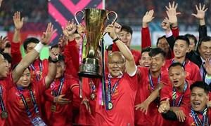 Vietcombank thưởng 1 tỷ đồng cho Đội tuyển bóng đá Việt Nam