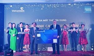 Vietcombank và American Express ra mắt sản phẩm thẻ cao cấp