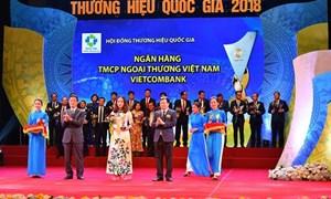 Vietcombank – 6 lần liên tiếp đạt Thương hiệu Quốc gia