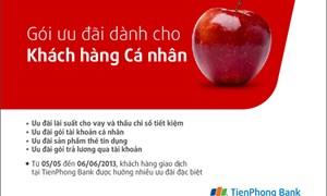 TienPhong Bank ưu đãi cho khách hàng cá nhân