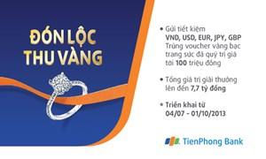 TienPhong Bank dành hơn 77 nghìn giải thưởng khuyến mại khách hàng