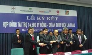 Vietcombank đầu mối thu xếp vốn cho dự án Thủy điện Lai Châu