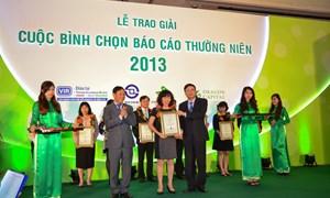 Vietcombank - Top 10 báo cáo thường niên xuất sắc nhất năm 2013