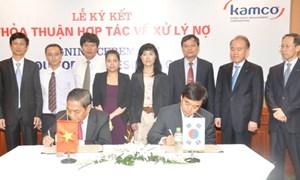 Tăng cường hợp tác giữa DATC và KAMCO