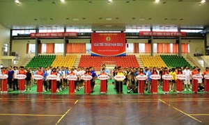 Công đoàn DATC tham gia Giải thể thao Công đoàn Bộ Tài chính năm 2013
