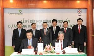 Vietcombank và EVN ký kết hợp đồng tài trợ vốn