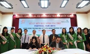Vietcombank lần thứ 5 liên tiếp đồng hành cùng Festival Huế