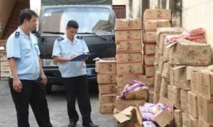 Hải quan Quảng Ninh tăng cường xử lý vi phạm về an toàn thực phẩm