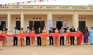Vietcombank tài trợ xây dựng trường học tại Phú Thọ và Hà Nam